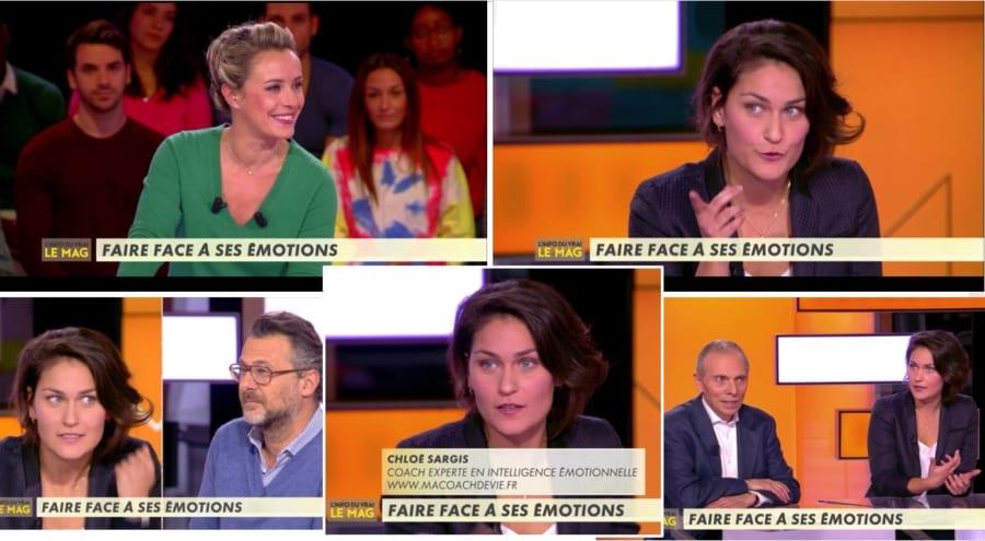 Canal+ - Emission L'Info du vrai le Mag - Chloé Sargis - comment gérer ses émotions